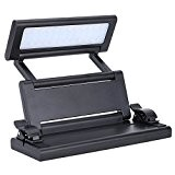 FZONE FL - 9032 ammoon Chargeable Portable Folding clip-on LED Reading Light Lamp Desk Stand