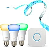 Philips Hue Entertainment Set (inkl. Philips Hue E27 Starter Set 3. Generation und Hue LightStrip+)