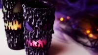 DIY Halloween Laternen | Gruselige Halloween Deko selber basteln!