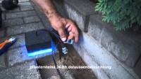 Außenbeleuchtung für Pflastersteine mit LED | Selber machen
