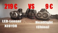 Led-Lenser XEO 19R 219€ - vs - China 9€ - VERGLEICH