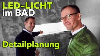 Lichtplanung im Luxus-Bad: Dusche und Badewanne | Smartest Home