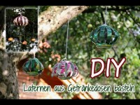 [DIY] Laternen aus Dosen basteln | How to recycle cans into laterns