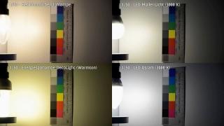 Flimmertest LED-Leuchtmittel