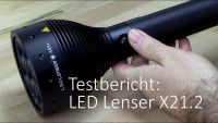 LED Lenser X21.2 im Taschenlampen Test