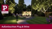 Außenbeleuchtung für den Garten mit Plug & Shine
